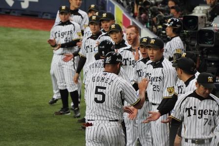 阪神戦4月3日54