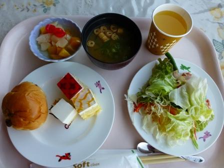 リゾートパークともやま2日目朝ご飯14