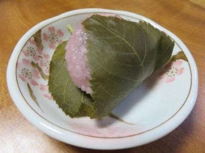 さくら記念日の桜餅