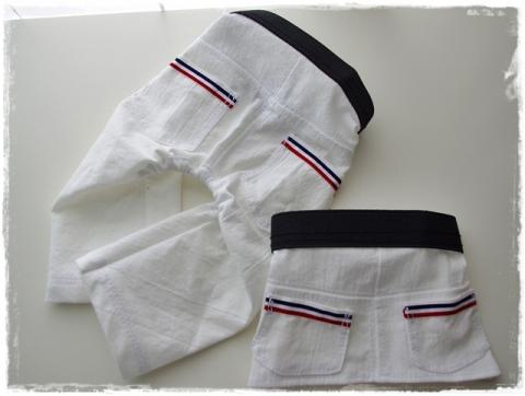 白パンツ&スカート①