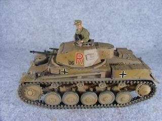 2号戦車左横