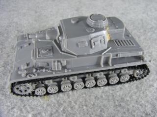 4号戦車F1型 左側面