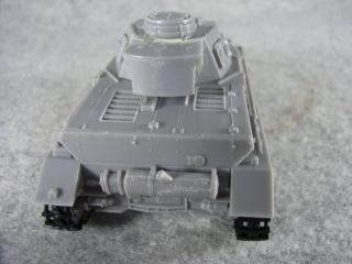 4号戦車F1型 後ろ