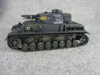 4号戦車F1型 左側