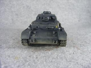 4号戦車F1型 正面