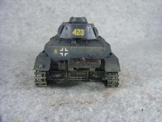 4号戦車F1型 後ろ側