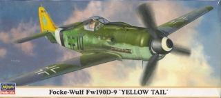 FW190 D-9 Yellow Tail 箱絵