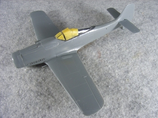 FW190 D-9 Yellow Tail 士の字