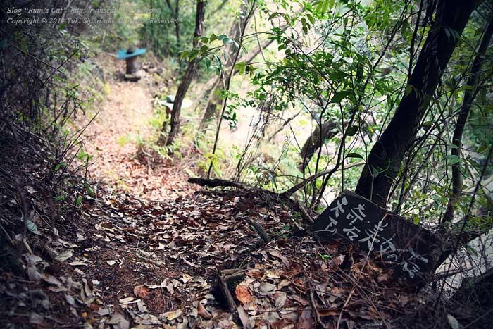 ダルマの里_04_美女の石への道
