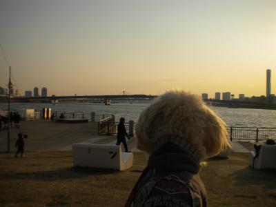 3月23日・夕焼けらっくん