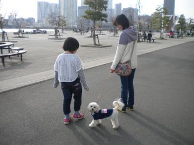 3月31日・姪とララポ