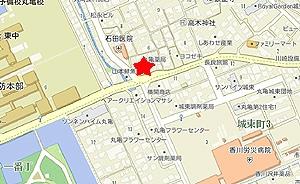 三月の豆cafe地図