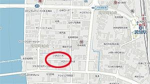 詫間ファミーユ地図