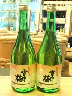 20140806雪中梅特別純米酒