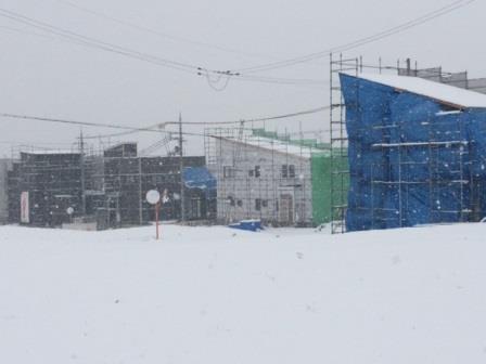 すごい雪でしたね。
