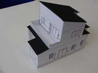 K様邸の模型02