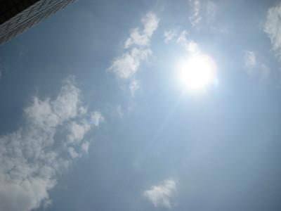 暑いひざし01