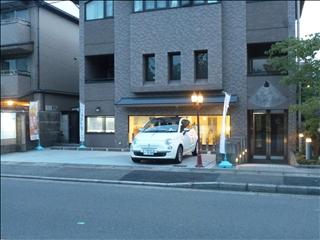 2013-08-29ぎゃらりーさくら(夕方)ブログ