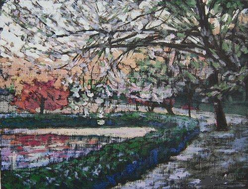 岩槻公園桜1