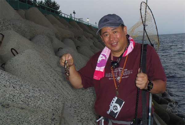 ぷーさんガシラを釣る