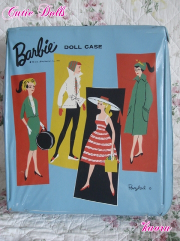 m barbie doll case 1961