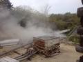 千寿の湯 外の源泉場