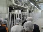 稲作部会 精米工場視察