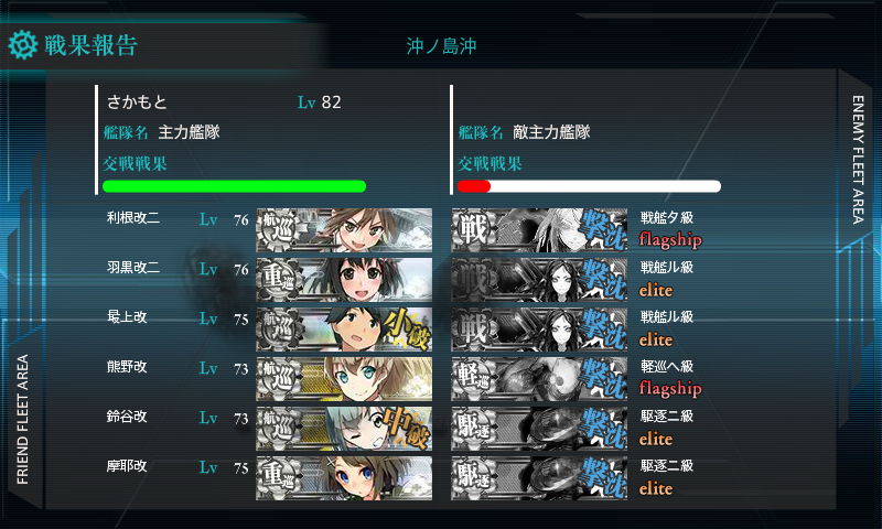 主力艦隊の出番ですね!