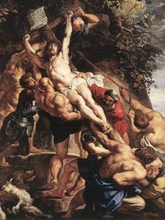 ルーベンス「キリスト昇架 」