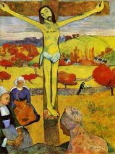 ゴーギャン「黄色いキリスト 」