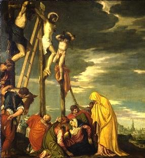 ヴェロネーゼVeronese「磔刑Crucifixion 」1580
