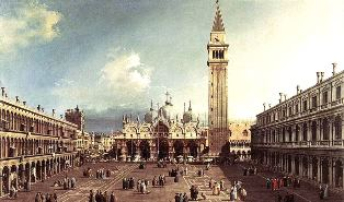 サン・マルコ大聖堂と広場