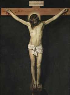ベラスケス 「十字架上のキリスト」プラド美術館