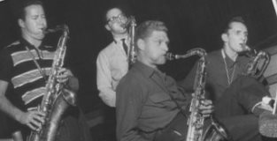 The Four Brothers_Stan Getz, Zoot Sims, Al Cohn and Serge Chaloff