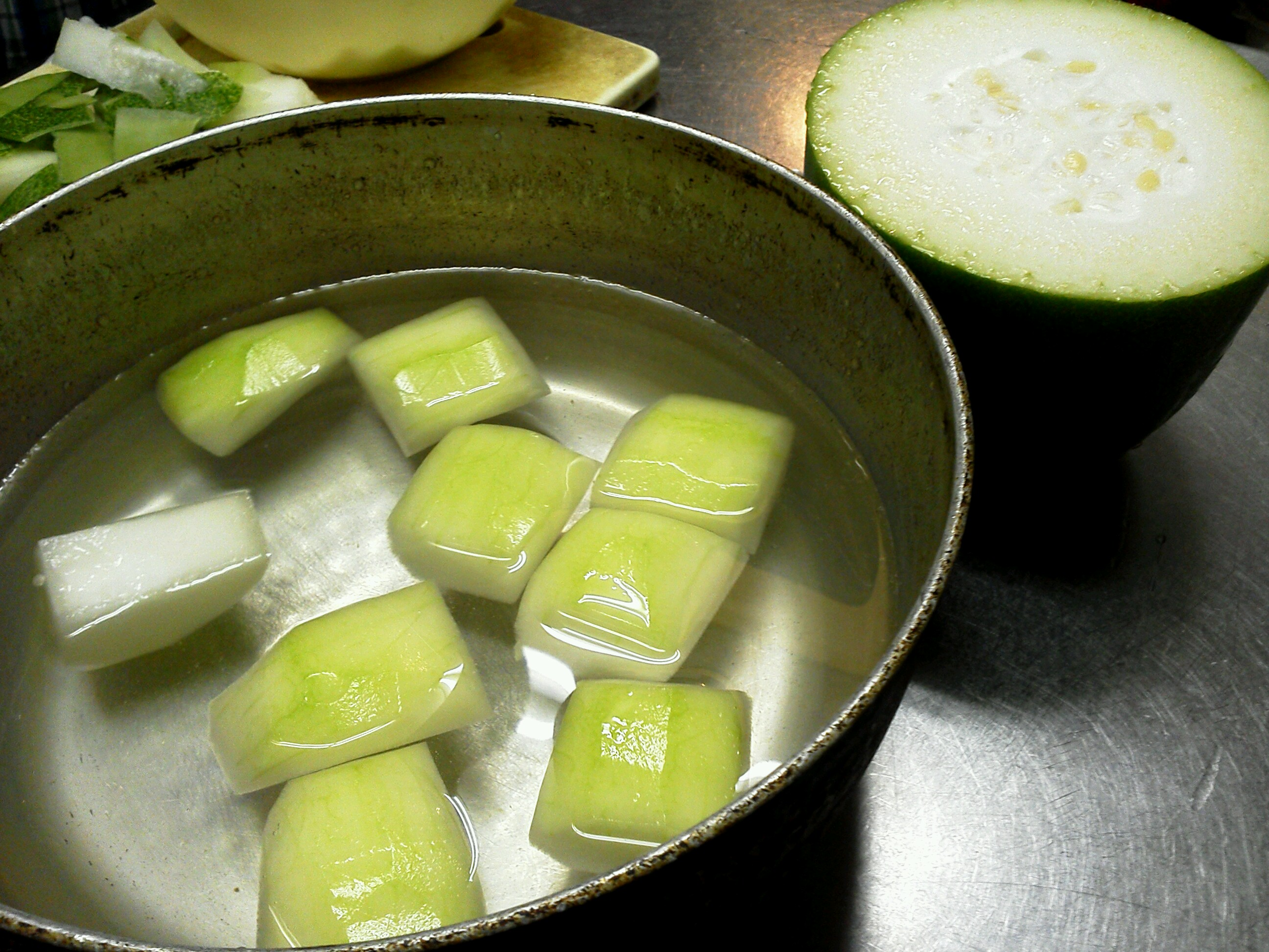 冬瓜と塩豚角煮