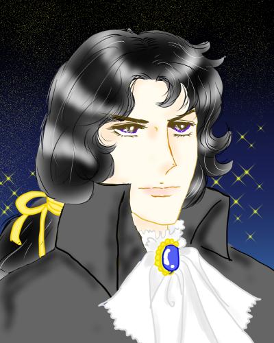 黒髪も似合うフェルゼン