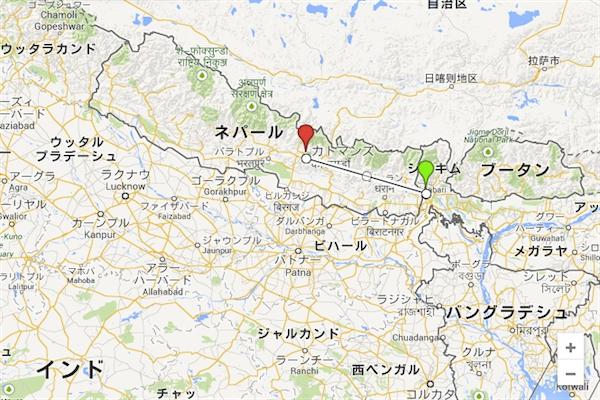 ダージリン→ネパール