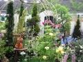 色が奏でる庭