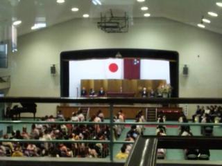 神戸山手短大卒業式