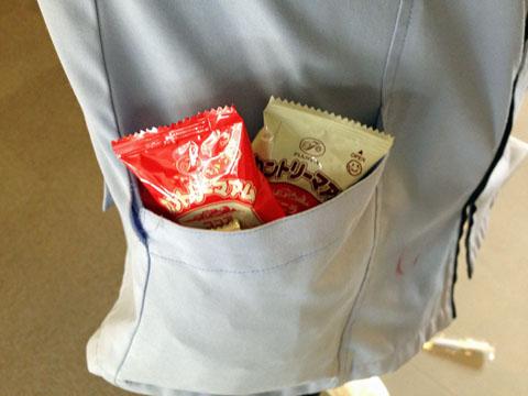 献血お菓子