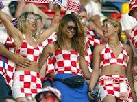 クロアチア美人サポーター画像特集