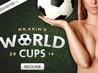 国を代表する有名女優11人のヌードシーンの人気投票で勝敗を決めるワールドカップ開催