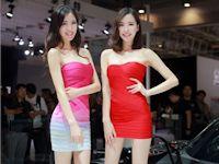 北京モーターショー2014の美人コンパニオン画像
