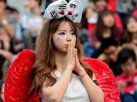 韓国美人サポーター画像特集
