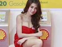 タイのモーターショーの美人コンパニオン画像特集