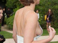 Jennifer Lawrence(ジェニファー・ローレンス) ファッションウィークで横チチ披露