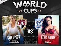 セレブのヌードシーンの人気投票によるワールドカップ決勝戦は アメリカ対イングランド