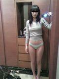 韓国美乳美女 自分撮り流出ヌード画像 2