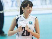10頭身の17歳美少女 カザフスタンのバレーボール選手 Sabina Altynbekova (サビーナ・アルティンベコワ)