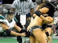 ランジェリーフットボールリーグのセクシー画像特集
